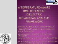 A Temperature-Aware Time-Dependent Dielectric ... - patmos 2010