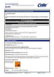 Griffi - CEBE Reinigungschemie GmbH