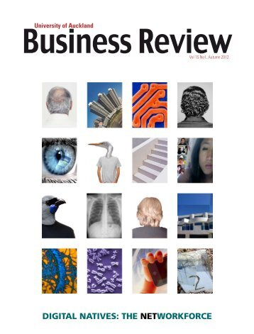 complete issue - University of Auckland Business Review