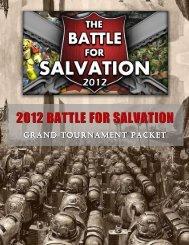 2012 battle for salvation - The Battle for Salvation Grand Tournament