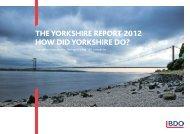Download Yorkshire Report 2012 - UK.COM