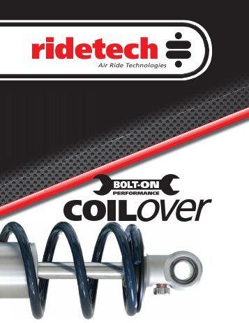 2011 coil-over catalog revised 5-23-11.indd - Air Ride Technologies