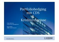 Hedging mit Kreditderivaten - Kapitalmarktforum - Landesbank Baden ...