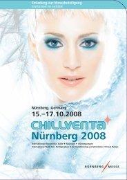 Nürnberg 2008 - auf der Chillventa