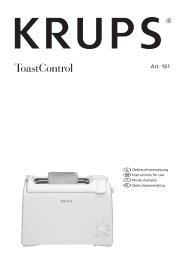 ToastControl - Krups
