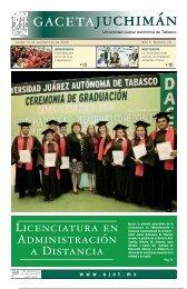 Año 4 Numero 76 - Publicaciones - Universidad Juárez Autónoma ...