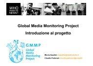 Presentazione del GMMP al convegno - Osservatorio di Pavia