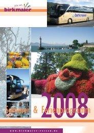Sommer & Ferienprogramm - Birkmaier Reisen