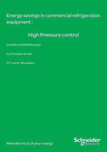 High Pressure control - Schneider Electric