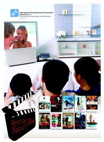 Annual Report 2006 - International Entertainment Corporation