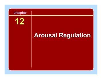 Arousal Regulation Slides