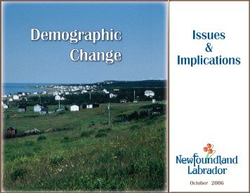 Demographic Change - Issues and Implications - Finance