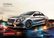 Preisliste CLA-Klasse - Autostern