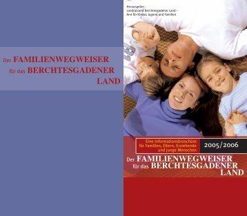 familienwegweiser - Landratsamt Berchtesgadener Land