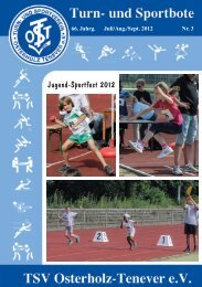 Jugend-Sportfest 2012 - TSV Osterholz-Tenever Bremen