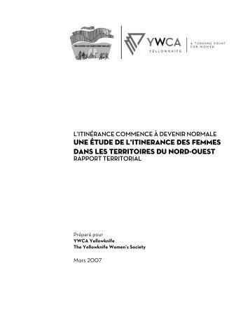 Une étude de l'itinérance des femmes itinérantes - YWCA Canada