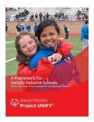 Social Inclusion Framework - Special Olympics