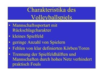 Folien Volleyball - Sport-mainz.de
