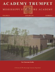 ACADEMY TRUMPET - Mississippi Department of Insurance