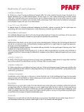 Hvorfor købe en overlockmaskine (pdf) - Pfaff - Page 2