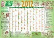 Kalender_GrüneLiga_2012 neu.indd - Grüne Liga Osterzgebirge