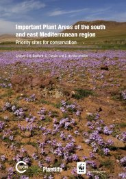 Important Plant Areas of the south and east Mediterranean ... - IUCN