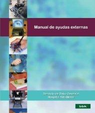 Manual de ayudas externas - Hospital Aita Menni