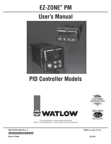 ez zone pm limit data flow in cip watlow ez zone ® pm pid controller models thermoelectric cooling