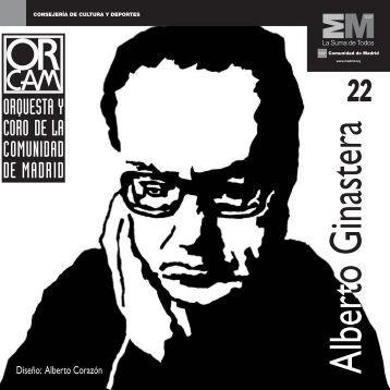 Alberto Ginastera - Orquesta y Coro de la Comunidad de Madrid