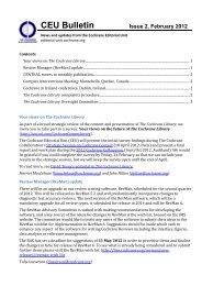 PDF file - Cochrane Editorial Unit - The Cochrane Collaboration