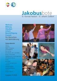 Jakobusbote Wohnen Bildung Glauben  Arbeit Beschäftigung ...
