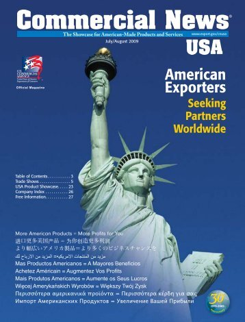 July/August 2009 issue - Commercial News USA