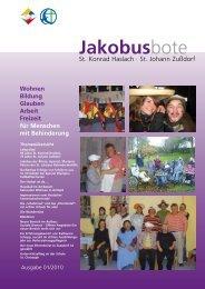 INFO - St. Jakobus Behindertenhilfe