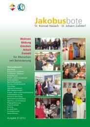 spende - St. Jakobus Behindertenhilfe