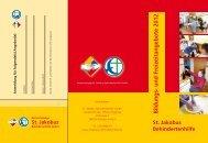 Bildungs- und Freizeitangebote 2012 - St. Jakobus Behindertenhilfe