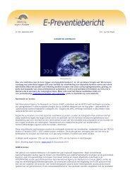 E-preventiebericht september 2011