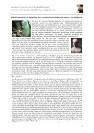 """Integriertes Seminar zum Thema """"Stress und Erkrankung ..."""