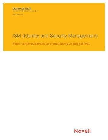 ISM (Identity and Security Management)