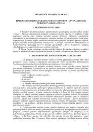 Informacija dėl piniginės socialinės - Panevėžio rajono savivaldybė