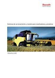 Sistemas de accionamiento y mando para ... - Bosch Rexroth