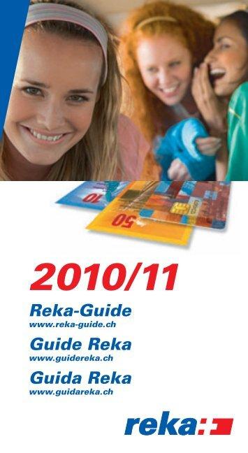 Reka-Guide Guide Reka Guida Reka - Reka-Ferien