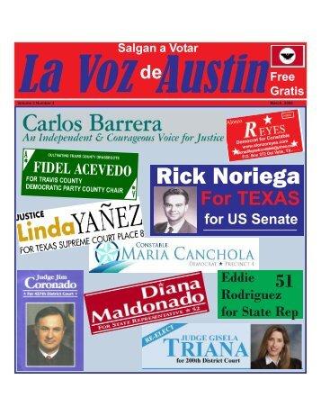 Rick Noriega - La Voz Newspapers