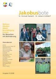 Jakobusbote Wohnen Glauben Arbeit Beschäftigung Freizeit für ...