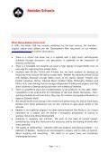 Sickness Absence - Bedales Schools - Page 2
