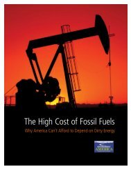 The High Cost of Fossil Fuels - Public Interest Network