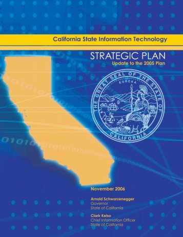 Strategic Plan (PDF) - Cioarchives.ca.gov - State of California