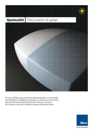 SpinbusKit Para puertas de garaje - Nice SpA