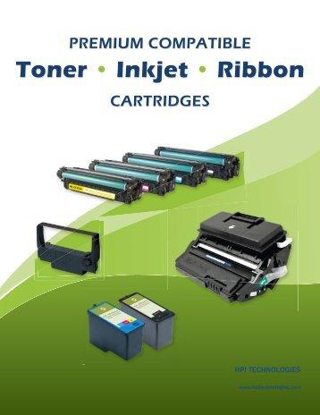 Toner • Inkjet • Ribbon Toner • Inkjet • Ribbon - HPI Technologies