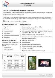 LCD- Display Series - NEMODOS