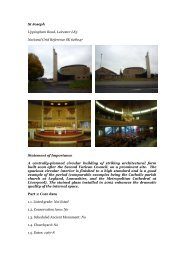 Leicester, St Joseph - Diocese of Nottingham